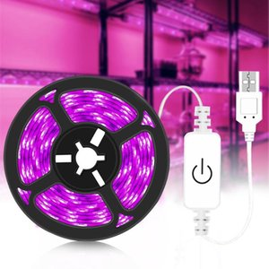Grow Light Full Spectrum USB Strip 0.5m 1m 2m 3m 2835 SMD DC5V LED Phyto Tape For Seed Plants Flowers Greenhouses Lights