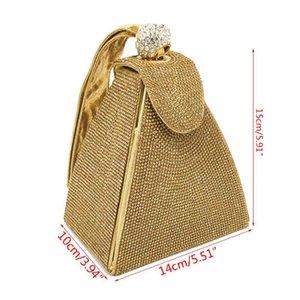 Vintage Rhinestone Bridal Wedding Party Prom Purse Evening Clutch Handbags For Women Girls J60D Bags