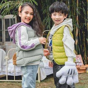 Vest *Kids Winter Autumn Cotton Warm Sleeveless Jacket Children For Girls Toddler Boy Coat Down And Parkas Waistcoat Coats