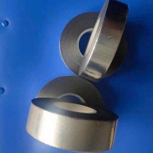 Ленты из алюминиевых фольги из стекловолокна, высокая теплопередача, высокое отражение высокого уровня, устойчивая к температуре высокой уплотнительной ленты