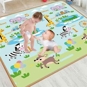 Xpe 200x180cm Baby Play Mat Puzzle Children's Thickened Tapete Infantil Room Crawling Pad Folding Carpet 210924