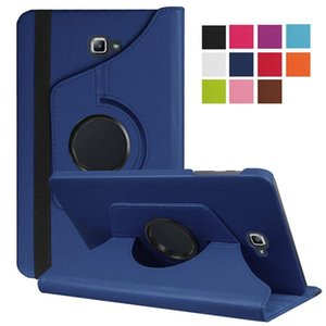 360 Degree Rotating Litchi Stand Leather Case for Samsung T220 T307 P610 T870 T387 T500 T385 T280 T550 T580 T590 T290 T860 T510
