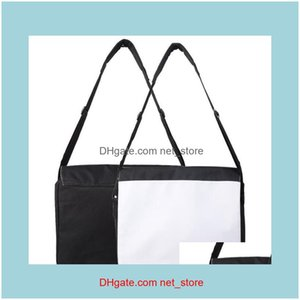 SportOutDoor Packs Bolsas, Lage Aessories50pcs Messenger Bags Sublimation Blank DIY Print S M L Sección Vertical Oxford Hombro CRUZ Cuerpo