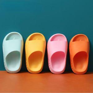 Slipper Children's Slippers Summer Cute Beach Shoes For Boys Girls Waterproof Antiskid Bathroom Kids Pink Soft Baby Shoe