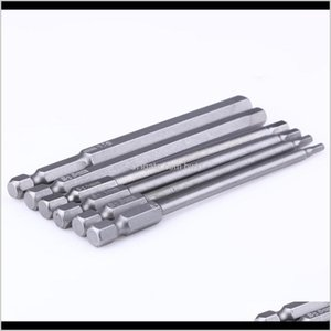 Power Tools Home & Garden6Pcs Hexagon Bit H2Dot5 H3 H4 H5 H6 H8 Drill Bits For Magnetic Head 1 4 Inch Hex Shank Screwdriver Set Drop Delivery
