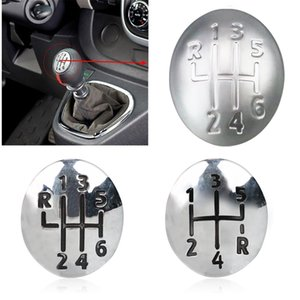Car Gear Knob Cap Cover 5 6 Speed Shift Lever Head Cover for Renault Clio Twingo Scenic Megane II 1996-2011 Car Accessories