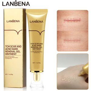 LANBENA Scar Removal Cream Acne Scar Treatment Serum Repairing Stretch Marks Burns Operation Mark Scar Cream Body Skin Care TCM
