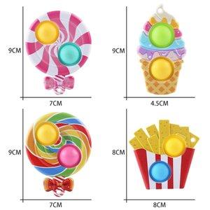 Грызун Pioneer Gourmet Пальца Пузырь Музыка Подвеска Детские игрушки для снятия стресса Леделокопа Пузырь Музыка