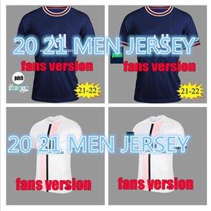 21 22 #30 MESSI MBAPPE soccer jersey HAKIMI WIJNALDUM men 2021 2022 MARQUINHOS VERRATTI SERGIO RAMOS Maillots de football shirt kit uniform