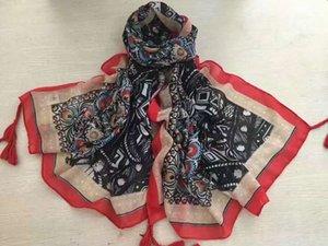 шарфы осень тонкий шарф искусство национальный тотемный хлопчатобумажный белье солнцезащитный крем шаль пляжное полотенце парижская пряжа шифрование