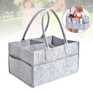 Baby diaper manager, car bag, baby room storage basket, baby felt basket xh8z J0526