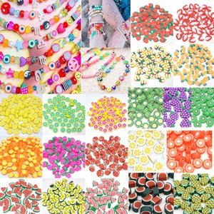 1000pcs lot 10mm Polymer Clay Fruit Beads For Jewelry Making DIY Bracelet Necklace Accpet Customized