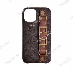Fashion Classic Designer Fundas para teléfono para iPhone 12 11 Pro MAX XS XR XSMAX 7 8 PLUS CUBIERTA DE LUJO DE LUJO DE LA PULSIMA DE CUERO DE CALIDAD