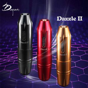 Dragon Artist Tattoo Power Supply Colorful II Generation Pen Secant Line Fogging Integrated Motor Machine Black Red Gold