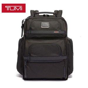 Alpha Series Men's Nylon Tumi Black 3 Tumin Ballistic Business Business حقيبة الكمبيوتر