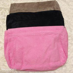 Модная полотенце бархатная сумка наклон Satchel Swime плечо простая сумка дамы большой емкости для хранения мешок для хранения VIP подарок