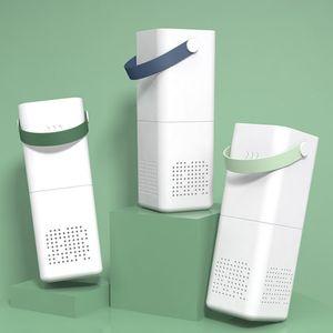 Mini Car Air Purifier Humidifier Diffuser Ozono Coche Formaldehyde Remove Deodorization Ionizer Rechargeable Purificador De Aire