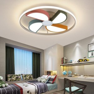 Nordic Winnower Home Decoration Salon Bedroom Decor Led Lamp Lights For Room Dimmable Ceiling Light Lamparas Indoor Lighting