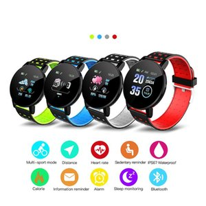 119Plus Smart Watch wristband Waterproof Fitness Tracker 119 plus Heart Rate monitor Bracelet Sports Smartwatch For Android IOS