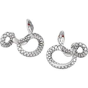high quality Men shirt Cufflinks fashion Serpentine cufflinks jewelry stainless steel Cuff links for business Gift