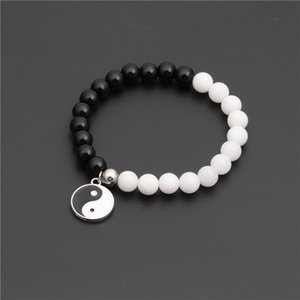 Bla Achat Yin Yang acht Diagramme Armband Perlen