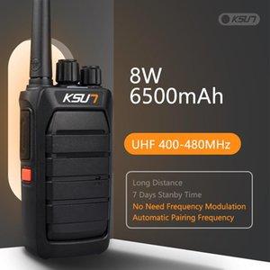 Walkie Talkie KSUN Powerful Automatically Frequency CB Radio Station UHF Transceiver Long Range