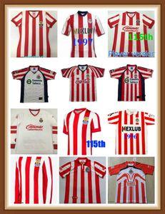 Retro Classic Chivas Regal 1996 1997 2007 2006 Soccer Jerseys Guadalajara 60th 110th 110th 115th