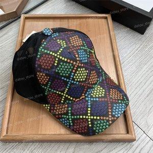 Modedesigner Baseballmütze Männer Frauen Regenbogen Brief Designer Mützen Hüte Herren Eimer Hut Fedora Anpassung Motorhaube Mützen Casquete Snapbacks
