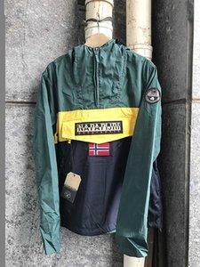 NAPA 20FW Sommer-Farbblockjacke 20ss Freizeit-Campus Hohe Qualität Marke Mantel Designer Männer S-Kleidungsmode Luxus-Druckmäntel1 Fash