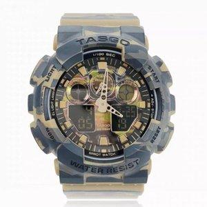 عالية الجودة relogio G * 100 الرياضية مجموعة رجال الكاملة الساعات العلامة التجارية الجديدة الرجال مشاهدة LED كرونوغراف ساعة اليد، ومشاهدة العسكرية، وساعة رقمية