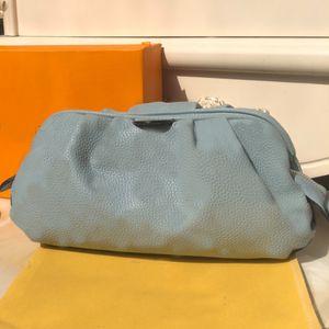Frauen Handtaschen Wolke Abendessen Tasche Kupplung Taschen Echtes Leder aushöhlen Nulldruck Muster Litchi Linien Reißverschluss Hohe Qualität