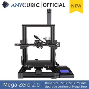 Printers ANYCUBIC Mega Zero 2.0 DIY 3D 220*220*250cm Desktop Printing Extruder Metal Frame Impresora Impressora
