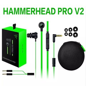 Razer Hammerhead Pro V2 Headphone in ear earphone With Microphone With Retail Box In Ear Gaming headsets