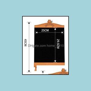 Blackboards Writing Boards Supplies Office School Business & Industrialcountertop Blackboard Advertising Poster Rack Menu Restaurant Mes Boa