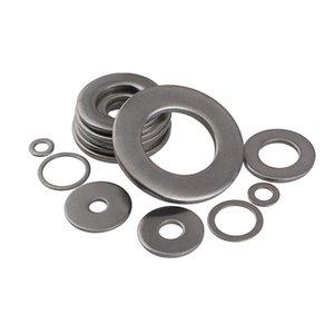 304 Stainless Steel Washer Screw Bolts Flat Washers GB97 Standard Ultra Thicken Round Plainwasher M1.6M2M3M4