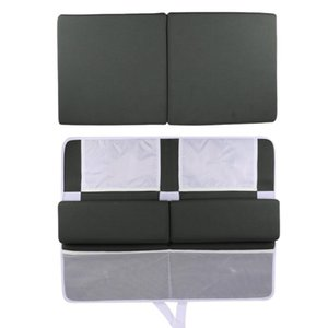 Bath Kneeler Rest Pad Set Elbow Support Knee Arm Washable Mat Baby Cushion Strength Suction Bathroom Accessories Mats