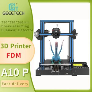 Printers Geeetech A10 FDM 3D Printer Open Source Control Board, Filament Detector, Easy Assembly, Resume Printing, Atuo-leveling, DIY Kit