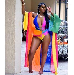 Swimwear Candy Color Positioning Printing Bikinis New Fashion Stitching Swimsuit 2PCS Womens Sexy Print Ladies Beach