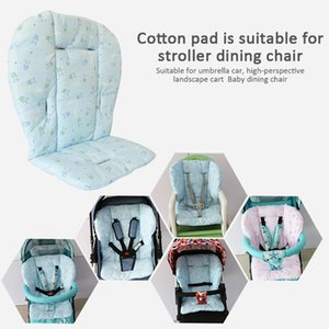 Baby Stroller Cushion Mat Cotton Mini Printed Safe Chair Pure Dining Chairs Pad Thick Car Seat Sensible Parts & Accessories