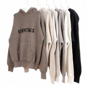 Fear off god sweatshirts women men essential sweater essentials season 5 sweatshirt man Clothing knitted mesh hoodie fog hoodies long sleeve fashion clothes
