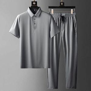 Men's Tracksuits UK0516 Fashion Sets 2021 Runway Luxury European Design Party Style Clothing