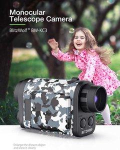 Camcorders Monocular Telescope Camera 60X Zoom 1500m Vision Remote Audio Input For Far-sighted Video Recording And Po Shooting