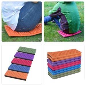 Dobrável dobrável campo de acampamento ao ar livre assento espuma xpe almofada portátil portátil cadeira impermeável piquenique tapete pad 5 cores fy9512