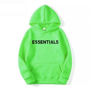 2021 Designer Essentials 3M fashion Printed men women Hip hop sweatshirts hooded Hiphop Oversized Boys Girl Cotton Hoodie Pullover jacket men's Sportswear