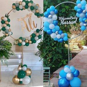 163x73 cm Círculo Globo Arco Marco Balloons Soporte Soporte Kit Decoraciones de Boda Ba Loon Fiesta de Cumpleaños Ducha Babón Decoración de Ballon 490 R2