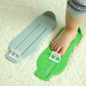 Малыш Младенческие ноги Мера Материалы Материалы Обувь Размер Измерение Правила Устройство Детские 6-20см Q1FE Первые Уокеры