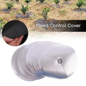 Other Garden Supplies 10Pcs Tree Protection Mats Ecological Control Cloth Mulch Ring Round Barrier Plant Cover For Indoor Outdoor Garde