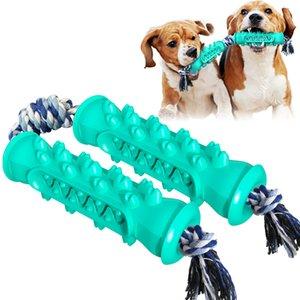 الكلاب التسنين عصا الصوت لعبة تطفو على فرشاة الأسنان المياه مع حبل اللعب مطاردة مضغ منتجات الحيوانات الأليفة مجموعة