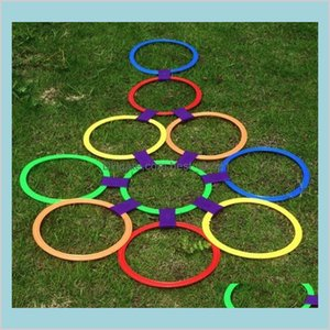 Baby Toy For Children Jumping Ring Kindergarten Teaching Aids Outdoor Sport Game Physical Fitness Training Equipment 38Cm Toys Gifts S Toshf