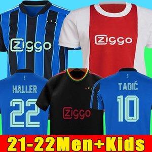 AJAX maillots de football amsterdam 2022 KUDUS ANTONY BLIND PROMES TADIC NERES CRUYFF 21 22 hommes + enfants enfant kit maillot de foot uniformes troisième de la